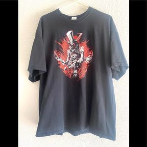 PERSONA5  SHOWS OVER  graphic t-shirt black - 2XL